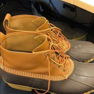 LL bean boots. Men's size 13. Lightly worn